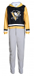 "Pittsburgh Penguins NHL ""Warm Up"" Unisex Micro Fleece Union Suit"