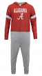 "Alabama Crimson Tide NCAA ""Warm Up"" Unisex Micro Fleece Union Suit"