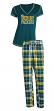 "Green Bay Packers NFL ""Super Duo"" Women's T-shirt & Flannel Pants Sleep Set"
