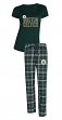 "Boston Celtics NBA ""Super Duo"" Women's T-shirt & Flannel Pants Sleep Set"