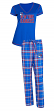 "New York Rangers NHL ""Super Duo"" Women's T-shirt & Flannel Pants Sleep Set"