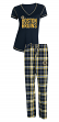 "Boston Bruins NHL ""Super Duo"" Women's T-shirt & Flannel Pants Sleep Set"