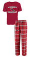 "Arizona Cardinals NFL ""Great Duo"" Men's T-shirt & Flannel Pants Sleep Set"