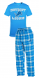 "Detroit Lions NFL ""Great Duo"" Men's T-shirt & Flannel Pants Sleep Set"