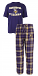 "Minnesota Vikings NFL ""Great Duo"" Men's T-shirt & Flannel Pants Sleep Set"