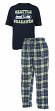 "Seattle Seahawks NFL ""Great Duo"" Men's T-shirt & Flannel Pants Sleep Set"