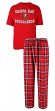 "Tampa Bay Buccaneers NFL ""Great Duo"" Men's T-shirt & Flannel Pants Sleep Set"