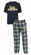 "UCLA Bruins NCAA ""Great Duo"" Men's T-shirt & Flannel Pants Sleep Set"
