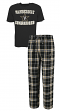 "Vanderbilt Commodores NCAA ""Great Duo"" Men's T-shirt & Flannel Pants Sleep Set"