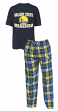 "Golden State Warriors NBA ""Great Duo"" Men's T-shirt & Flannel Pants Sleep Set"