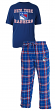 "New York Rangers NHL ""Great Duo"" Men's T-shirt & Flannel Pants Sleep Set"