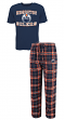 "Edmonton Oilers NHL ""Great Duo"" Men's T-shirt & Flannel Pants Sleep Set"