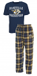 "Nashville Predators NHL ""Great Duo"" Men's T-shirt & Flannel Pants Sleep Set"