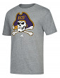 "East Carolina Pirates Adidas ""Vintage Logo"" Premium Tri-Blend T-Shirt"