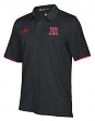 Rutgers Scarlet Knights Adidas NCAA 2018 Sideline Team Iconic Polo Shirt - Black