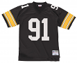 Kevin Greene Pittsburgh Steelers NFL Mitchell & Ness Throwback Premier Jersey