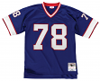Bruce Smith Buffalo Bills NFL Mitchell & Ness Throwback Premier Blue Jersey