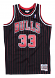 Scottie Pippen Chicago Bulls Mitchell & Ness NBA Swingman HWC Jersey - Pinstripe