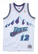 John Stockton Utah Jazz Mitchell & Ness NBA Swingman 96-97 HWC Jersey - White