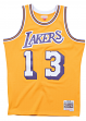Wilt Chamberlain Los Angeles Lakers Mitchell & Ness NBA Swingman 71-72 Jersey
