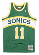 Detlef Schrempf Seattle Supersonics Mitchell & Ness NBA Swingman 94-95 Jersey