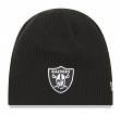 "Oakland Raiders New Era NFL ""Basic Team Beanie 2"" Reversible Knit Hat"