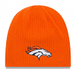 "Denver Broncos New Era NFL ""Basic Team Beanie 2"" Reversible Knit Hat"