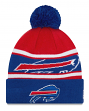 "Buffalo Bills New Era NFL ""Callout Pom"" Cuffed Knit Hat with Pom"