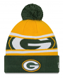 """Green Bay Packers New Era NFL """"Callout Pom"""" Cuffed Knit Hat with Pom"""