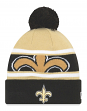 "New Orleans Saints New Era NFL ""Callout Pom"" Cuffed Knit Hat with Pom"