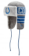 "Indianapolis Colts New Era NFL ""Frosty Trapper"" Fur Lined Knit Hat"