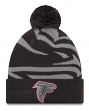 "Atlanta Falcons New Era Youth NFL ""JR Logo Whiz 3 Gray"" Cuffed Knit Hat"