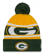 "Green Bay Packers New Era Youth NFL ""Junior Callout"" Cuffed Knit Hat with Pom"