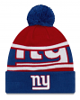 "New York Giants New Era Youth NFL ""Junior Callout"" Cuffed Knit Hat with Pom"
