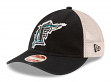 "Florida Marlins New Era MLB 9Twenty Cooperstown ""Frayed Twill 2"" Mesh Back Hat"