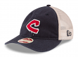 "Cleveland Indians New Era MLB 9Twenty Cooperstown ""Frayed Twill 2"" Mesh Back Hat"