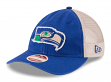 "Seattle Seahawks New Era NFL Historic 9Twenty ""Frayed Twill 2"" Mesh Back Hat"