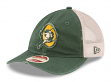 "Green Bay Packers New Era NFL Historic 9Twenty ""Frayed Twill 2"" Mesh Back Hat"