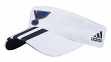 "St. Louis Blues Adidas NHL ""2 Line Pass"" Performance Adjustable Visor"