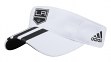 "Los Angeles Kings Adidas NHL ""2 Line Pass"" Performance Adjustable Visor"