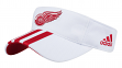 "Detroit Red Wings Adidas NHL ""2 Line Pass"" Performance Adjustable Visor"