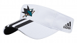 "San Jose Sharks Adidas NHL ""2 Line Pass"" Performance Adjustable Visor"
