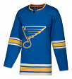 St. Louis Blues Adidas NHL Men's Climalite Authentic Alternate Hockey Jersey