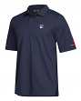 New York Rangers Adidas NHL Men's 2018 Authentic Game Day Polo Shirt