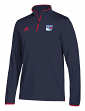 New York Rangers Adidas NHL Men's 2018 Authentic Pro 1/4 Zip Wind Shirt