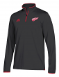 Detroit Red Wings Adidas NHL Men's 2018 Authentic Pro 1/4 Zip Wind Shirt