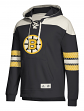 "Boston Bruins Adidas NHL Men's ""Crossbar"" Vintage Jersey Sweatshirt"