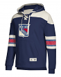 "New York Rangers Adidas NHL Men's ""Crossbar"" Vintage Jersey Sweatshirt"