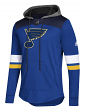 "St. Louis Blues Adidas NHL Men's ""Blue Line"" Premium Hooded Sweatshirt"