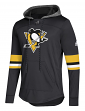 "Pittsburgh Penguins Adidas NHL Men's ""Blue Line"" Premium Hooded Sweatshirt"